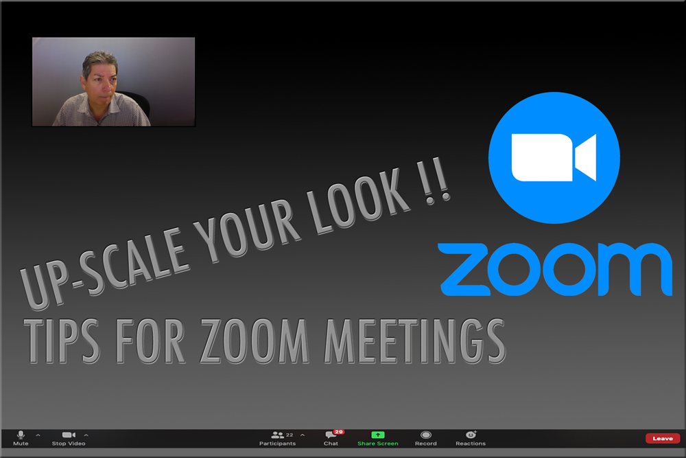 How do you look when you're on ZOOM?